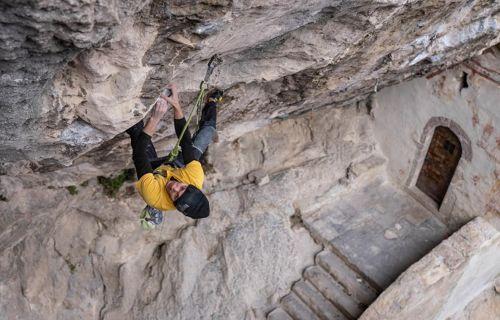 Stefano Ghisolfi v cestě Erebor (9b/+), Foto: Sara Grippo