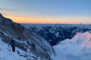 Z výstupu na Mount Nelson (3.313 m n. m.), Foto: Archiv Christina Lustenberger