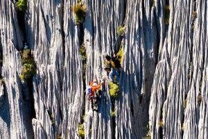 Prvovýstup cesty Super Canalizos (6c+, 475 m), foto: Iker Pou/Eneko Pou