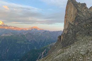 Petit Clocher du Portalet ve Švýcarsku, foto: Fred Moix