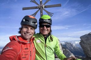 První ze šesti vrcholů, Cima Grande di Lavaredo, foto: Roger Schöli