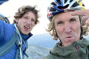 Philipp Hans a Stefan Glowacz na vrcholu Pic de Bure
