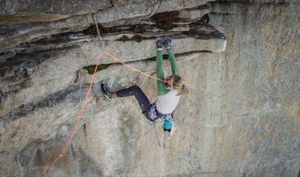 Brittany Goris v Salathé Wall