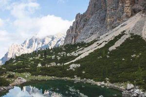 Torre del Lago v Dolomitech, foto: Simon Gietl