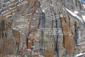 Cesta Chalten sin Clecas a pokus s Lucasem Rubiolem v severní stěně El Mocho. Foto: Patagonia Vertical