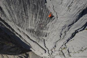 Prvovýstup cesty Leire (6b, 300 m), foto: Iker Pou/Eneko Pou