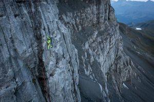 Cesta Chant Du Cygne (7a) v severní stěně Eigeru, foto: Frank Kretschmann