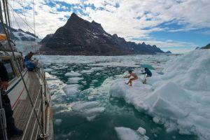 Plachetnice připlouvá, je čas na cestu zpět přes oceán, foto: Jean-Louis Wertz