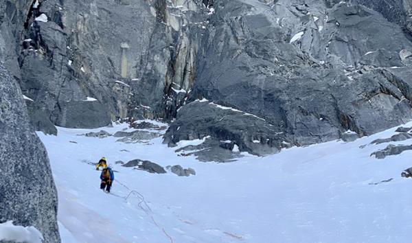 Prvovýstup v oblasti Mont Blanc