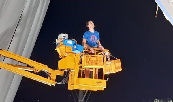 Jediný český lezec, který na olympiádě slavil