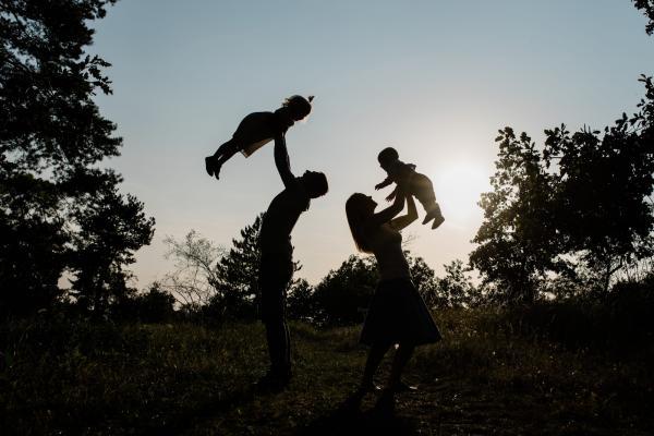 Rodina, nebo hory